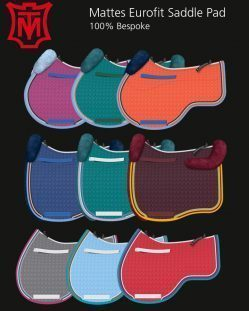 Mattes Eurofit Saddle Pad Colours
