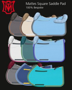 Mattes Sheepskin Saddle Pad Styles
