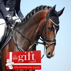 Gift Card Horse Dressage Close Up