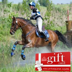 Gift Card Horse Show Jumping