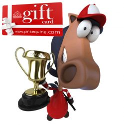 Gift Card Horse Fun Trophy