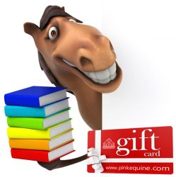 Gift Card Horse Fun Books Study Exams