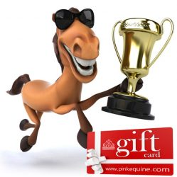 Gift Card Horse Trophy