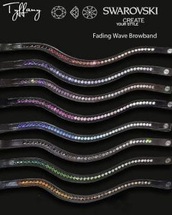 Tyffany Fading Wave Browband