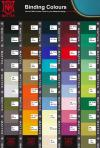 Mattes Equestrian Binding Colours