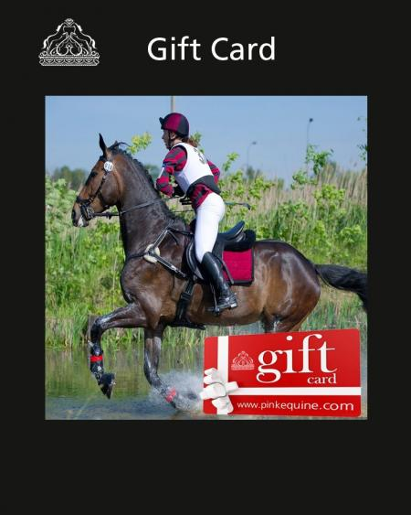 Pink Equine Gift Card