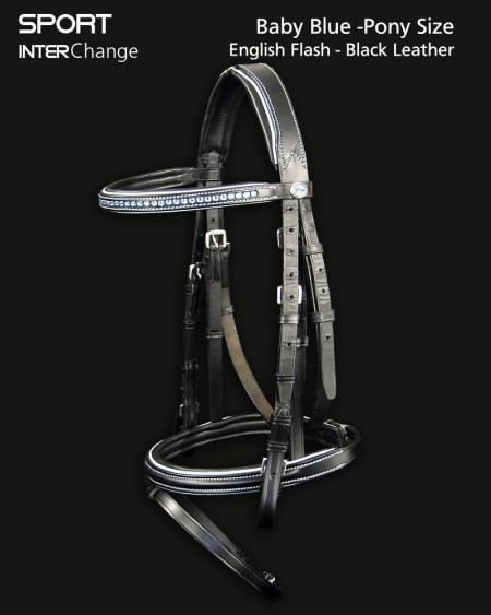 Baby Blue Bridle 1