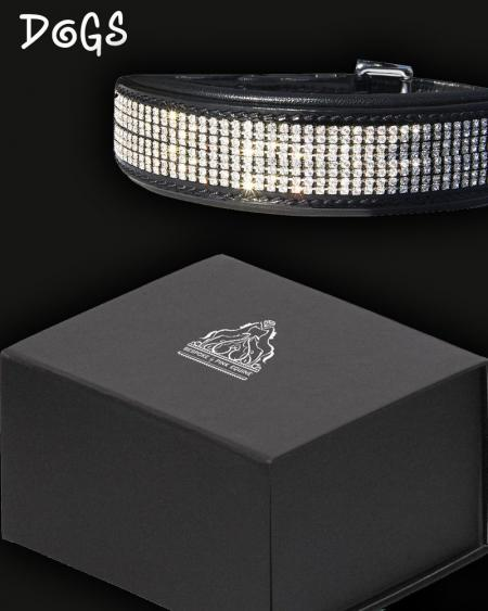 Luxury Diamante Dog Collar