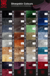 Mattes Equestrian Sheepskin Colours