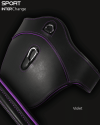 Sport Interchange Close Contact Girth Violet